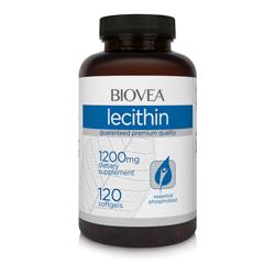 LECITHIN 1200mg 120 Gelkapseln