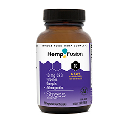 CBD STRESS 5mg (extra stark) 30 vegetarische Gelkapseln