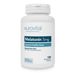 MELATONIN 5mg 180 Vegetarische Tabletten
