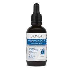 Vitamin B12 (mit Folsäure) Flüssigkeitstropfen 1000mcg 60ml