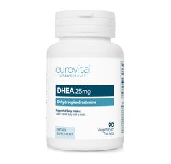 DHEA 25mg 90 Comprimidos Vegetarianos