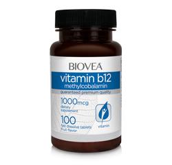 VITAMIN B12 (Metilcobalamina) 1000mcg 100 (Rápida Disolución) Comprimidos