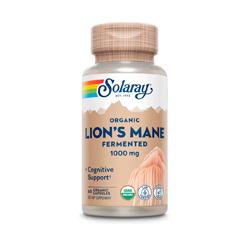 FUNGO LION'S MANE CRINIERA DI LEONE FERMENTATO 500mg 60 Capsule vegetali