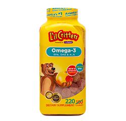 CARAMELLE GOMMOSE DI OMEGA-3 per Bambini 220 Caramelle Gommose