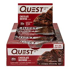 QUEST NUTRITION BARRETTE PROTEICHE (Cioccolato) (Keto) 12 Barrette