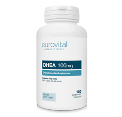 DHEA 100mg 180 Cápsulas Vegetarianas