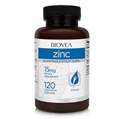 ZINC 15mg 120 Vegetarian Capsules