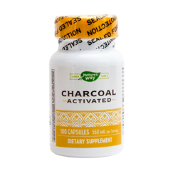 ACTIVATED CHARCOAL 560mg 100 Capsules