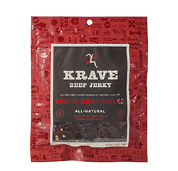ALL-NATURAL BEEF JERKY (Garlic Chili Pepper) (2.7oz) 76g