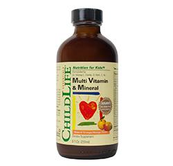 MULTI VITAMIN & MINERAL (Natural Orange/Mango Flavour) (8oz) 237ml