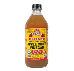 APPLE CIDER VINEGAR (Raw - Organic) (16oz) 473ml