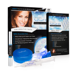 NuPearl.32x PERFECTING TEETH WHITENING PEN + SYSTEM REFILL PACK 4 Syringes (PEROXIDE-FREE) VALUE PACK