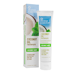 COCONUT OIL TOOTHPASTE (Mint) (6.25oz) 176g