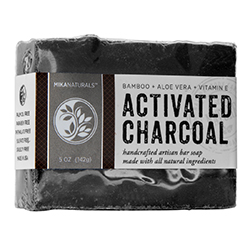 ACTIVATED CHARCOAL & ALOE VERA SOAP (5 oz) 142g