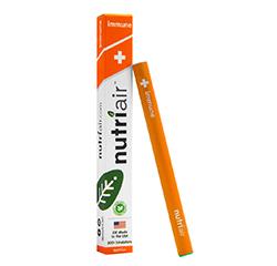 NUTRIAIR IMMUNE INHALABLE SUPPLEMENT (Natural, Blood Orange Flavour)
