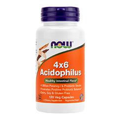 ACIDOPHILUS 4X6 120 Capsules
