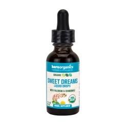 BareOrganics SWEET DREAMS SLEEP SUPPORT LIQUID DROPS (Organic) (1 fl oz) 30ml