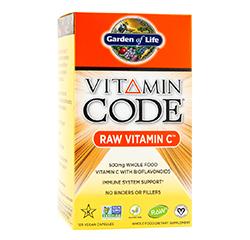 VITAMIN CODE RAW VITAMIN C 120 Vegan Capsules