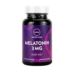 MELATONIN 3mg 60 Vegan Capsules