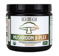 MUSHROOM 8-PLEX (Organic) (2.14oz) 60g