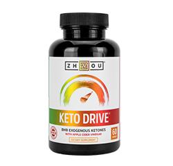 KETO DRIVE BHB EXOGENOUS KETONES with Apple Cider Vinegar 60 Capsules