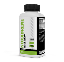 NOXADRENE with A-AKG Nitric Oxide Booster 180 Tablets