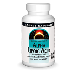 ALPHA LIPOIC ACID 300mg (Time Release) 60 Tablets