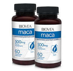 MACA (Organic) 500mg 120 Capsules VALUE PACK