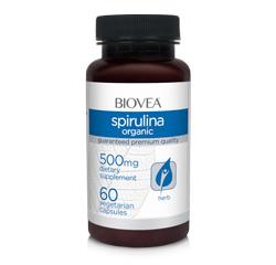 SPIRULINA (Organic) 500mg 60 Vegetarian Capsules