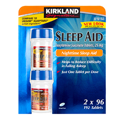 SLEEP AID 25mg (Doxylamine Succinate) 192 Tablets