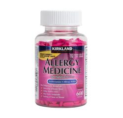 ALLERGY MEDICINE (Diphenhydramine HCI 25mg) 600 MiniTabs
