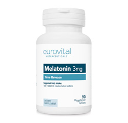 MELATONIN 3mg (Time Release) 90 Vegetarian Tablets