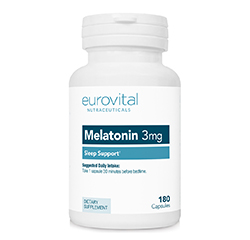 MELATONIN 3mg 180 Capsules