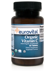 Vitamin C (From Organic Acerola Fruit) 60 Tablets