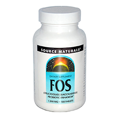 FOS (Fructooligosaccharides) 1000mg 100 Tablets