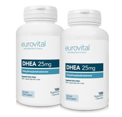 Dhea 25mg 360 Capsules Value Pack