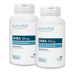 Dhea 50mg 360 Capsules Value Pack