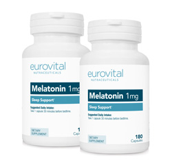 Melatonin 1mg 360 Capsules Value Pack