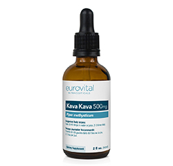 Kava Kava Liquid Drops 500mg (2oz) 60ml