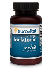 Melatonin 3mg 50 Fast Dissolve Tablets