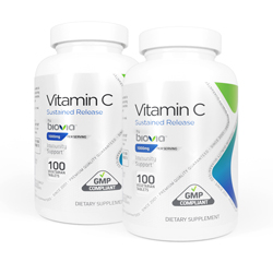 VITAMIN C (SUSTAINED RELEASE) 1000mg 200 Vegetarian Tablets VALUE PACK