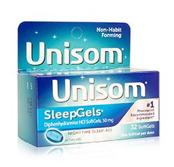 UNISOM SLEEPGELS (Maximum Strength) 32 Softgels