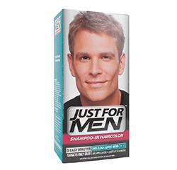 JUST FOR MEN SHAMPOO IN HAIR COLOUR (Dark Blond/Lightest Brown) 1 Application
