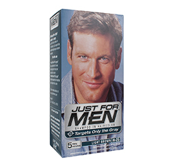JUST FOR MEN SHAMPOO IN HAIR COLOUR (Light Brown) 1 Application