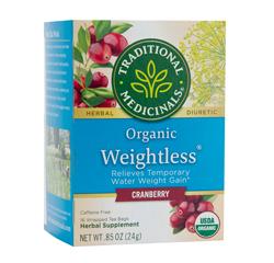 WEIGHTLESS CRANBERRY 16 Tea Bags