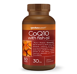 COQ10 WITH FISH OIL 30mg 60 Softgels