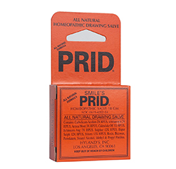 SMILE'S PRID DRAWING SALVE (Homeopathic) 18g