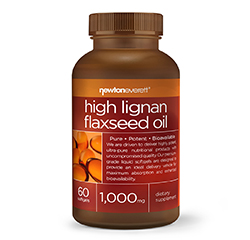 FLAXSEED OIL (High Lignan) 1000mg 60 Softgels