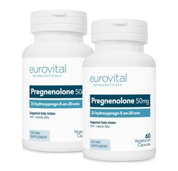 PREGNENOLONE 50mg 120 Capsules VALUE PACK