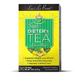 SUPER DIETER'S TEA (Lemon Mint) 30 Tea Bags